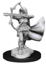 Dungeons and Dragons: Nolzur's Marvelous Unpainted Miniatures Wave 15: Air Genasi Female