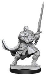 Dungeons and Dragons: Nolzur's Marvelous Unpainted Miniatures Wave 15: Half Orc Paladin Male