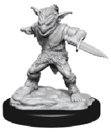 Dungeons and Dragons: Nolzur's Marvelous Unpainted Miniatures Wave 15: Male Goblin Rogue and Female Goblin Bard