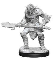 Dungeons and Dragons: Nolzur's Marvelous Unpainted Miniatures Wave 15: Bugbear Barbarian Male and Bugbear Rogue Female