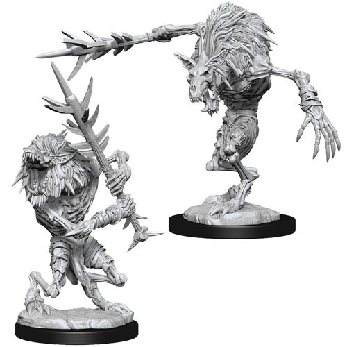 Dungeons and Dragons: Nolzur's Marvelous Unpainted Miniatures Wave 15: Gnoll Witherlings
