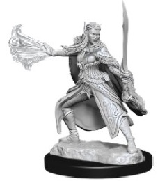 Dungeons and Dragons: Nolzur's Marvelous Unpainted Miniatures Wave 15: Winter Eladrin and Spring Eladrin