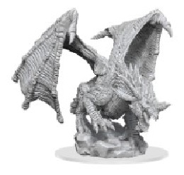 Dungeons and Dragons: Nolzur's Marvelous Unpainted Miniatures Wave 15: Young Blue Dragon