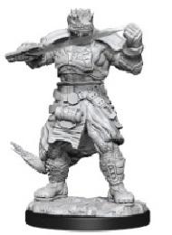 Starfinder Deep Cuts Unpainted Miniatures: Wave 15: Vesk Soldier