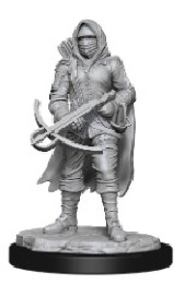 Wizkids Deep Cuts Unpainted Miniatures: Wave 15: Bounty Hunter and Outlaw