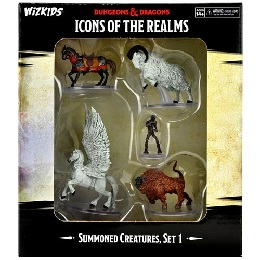 Dungeons and Dragons Fantasy Miniatures: Icons of the Realms: Summoning Creatures Set 1