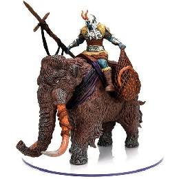 Dungeons and Dragons: Icons of the Realms: Snowbound Frost Giant and Mammoth