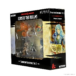 Dungeons and Dragons Fantasy Miniatures: Icons of the Realms: Summoning Creatures Set 2