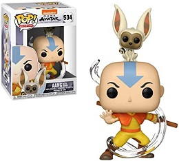 Funko POP: Buddy: Avatar: Aang with Momo