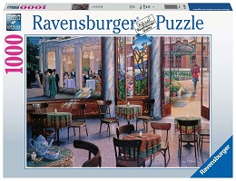 A Cafe Visit Puzzle - 1000 Pieces