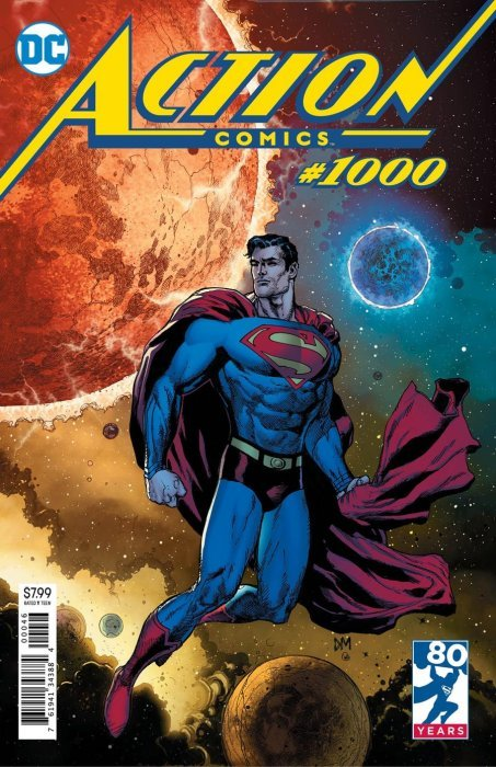 Action Comics (2016) no. 1000 (Fried Pie Variant) - Used