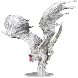 Dungeons and Dragons Icons of the Realms: Adult White Dragon Premium Figure