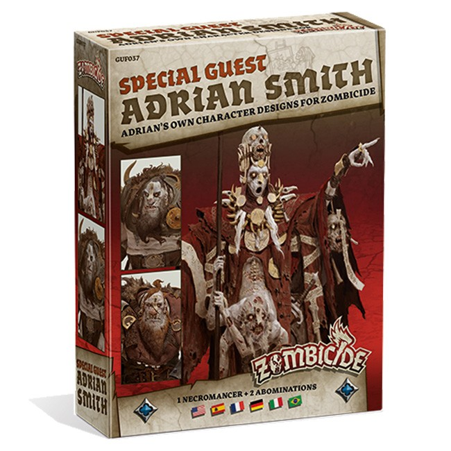 Zombicide: Green Horde: Special Guest: Adrian Smith