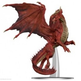 Dungeons and Dragons Icons of the Realms: Premium Figure: Adult Red Dragon