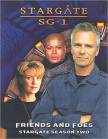 Stargate SG1: Friends and Foes Stargate Season Two Role Playing - USED