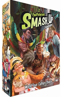 Smash up: World Tour Culture Shock Card Game