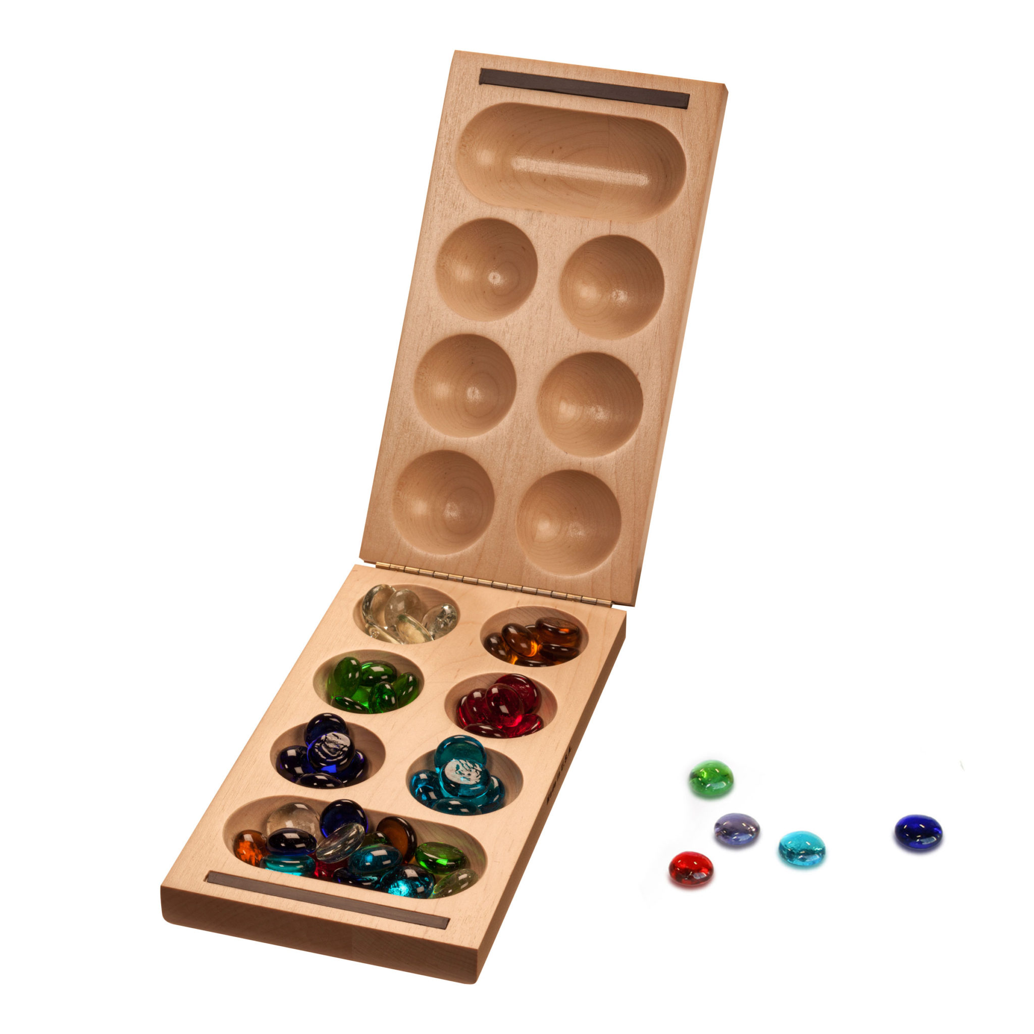 Mancala: African Stone Game- Blue