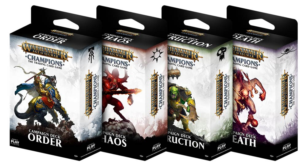 Age of Sigmar: Champions TCG Chaos Deck