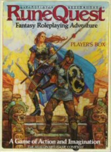 Runequest RPG Box Set: Player's Box - Used