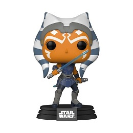 Funko POP: Star Wars: Clone Wars: Ahsoka Blue Sabers