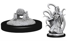 Dungeons and Dragons Nolzurs Marvelous Unpainted Minis Wave 13: Alhoon and Intellect Devourers