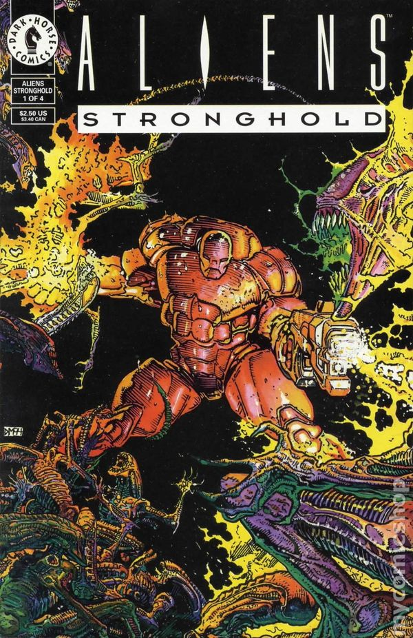 Aliens Stronghold (1994 Series) Complete Bundle - Used