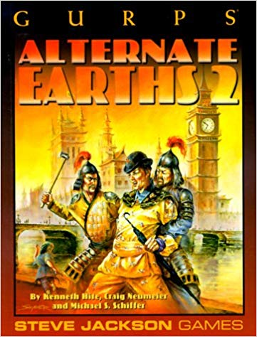 GURPS 3rd ed: Alternative Earths 2 - Used