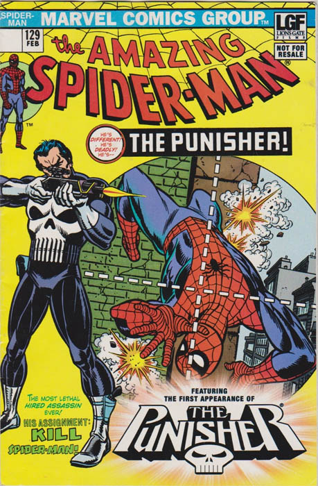 The Amazing Spider-man (1963) no. 129 (Lionsgate Reprint) - Used