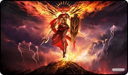 Playmat: Angel of the Mountain
