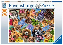 Animal Selfie Puzzle - 500 Pieces