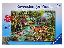Animals of India Puzzle - 60 Pieces