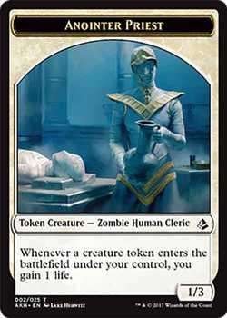 Anointer Priest Token - White - 1/3