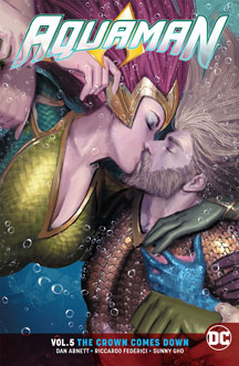 Aquaman: Volume 5: The Crown Comes Down TP
