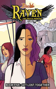 Princeless Raven The Pirate Princess: Volume 5: Get Lost Together TP