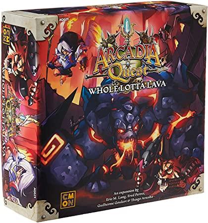 Arcadia Quest: Whole Lotta Lava Expansion