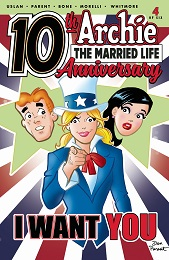 Archie Married Life: 10 Years Later no. 4 (2019 Series)