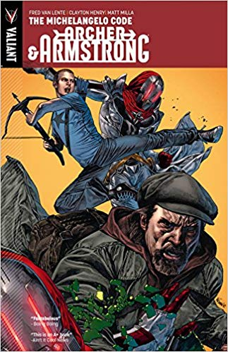 Archer and Armstrong: Volume 1: The Michelangelo Code TP