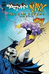 Batman the Maxx: Arkham Dreams no. 4 (4 of 5) (2018 Series) (B Cover)