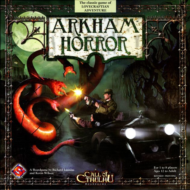 Arkham Horror Board Game Revised Edition - USED - By Seller No: 11283 Andrew McLearen