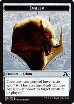 Arlinn Kord Emblem Token