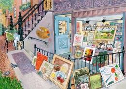 Art Gallery Puzzle - 1000 Pieces