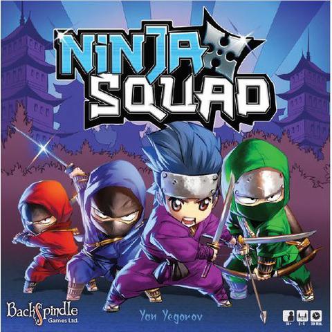 Ninja Squad Board Game