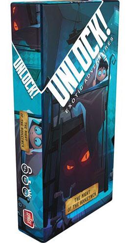 Unlock! Night of the Boogeymen Card Game
