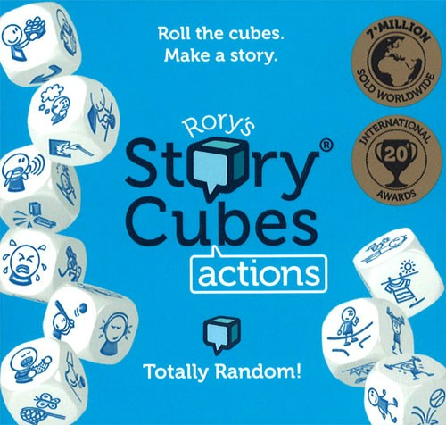 Rorys Story Cubes: Actions 2nd Edition