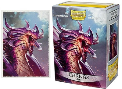 Sleeves: Dragon Shield Art: Carnax: 100 Sleeves