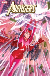 Avengers no. 25 (2018 Series) (Alex Ross Variant)