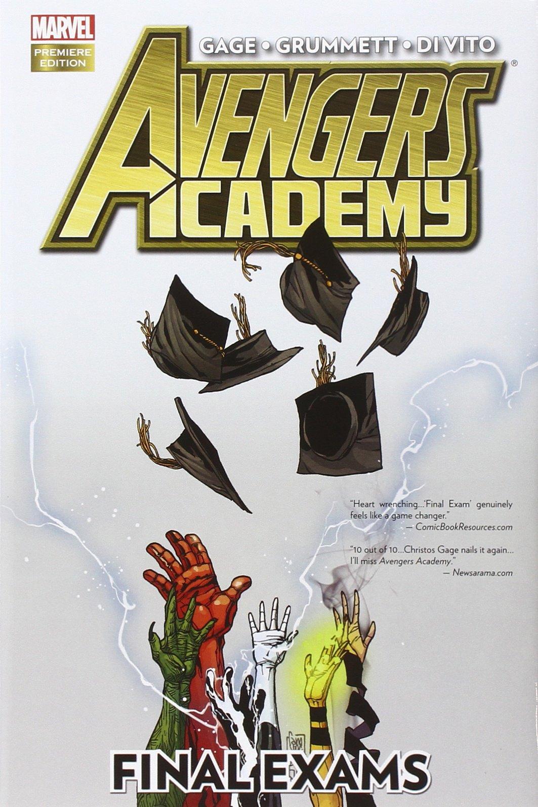 Avengers Academy: Final Exams HC - Used
