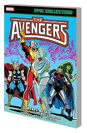 Avengers Epic Collection: Heavy Metal TP