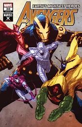 Avengers no. 30 (2018 Series) (Marvel X Variant)