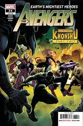 Avengers no. 34 (2018 Series)